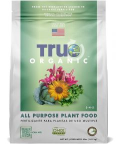 True Organic 4 lbs. All Purpose Plant Food, 5-4-5