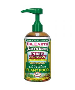 Dr. Earth 16 oz. Pump & Grow Succulence Cactus & Succulent Plant Food, 1-1-2
