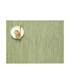Chilewich Bamboo Table Mat, Spring Green