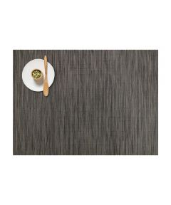 Chilewich Bamboo Table Mat, Grey Flannel