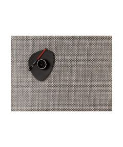 Chilewich Basketweave Table Mat, Oyster