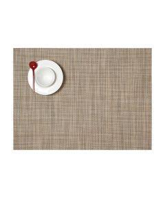 Chilewich Mini Basketweave Table Mat, Linen Color