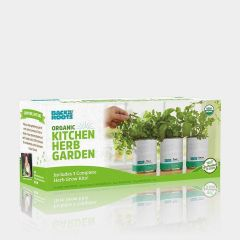 Back to the Roots 3-Pack Kitchen Herb Garden in a Can Grow Kit with Basil / Mint / Cilantro