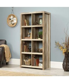 HomePlus 8-Cube Bookcase, Lintell Oak
