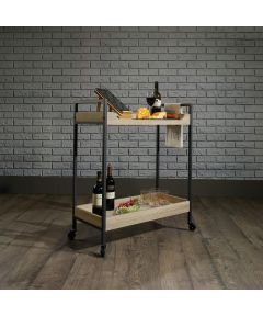 North Avenue Rolling Entertainment Serving Cart, Charter Oak