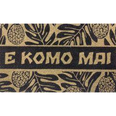 Aloha Door Mat, E Komo Mai Ulu
