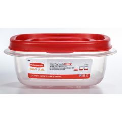 Rubbermaid 1.25 Cup Food Container with Easy Find Lid