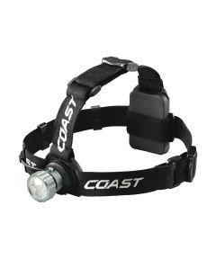 COAST HL45 400 Lumen Dual Color Wide Angle Flood Beam Headlamp, 3AAA
