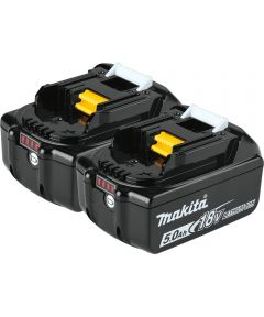 Makita 18V LXT Lithium‑Ion 5.0Ah Battery, 2 Pack