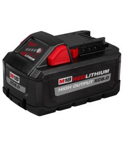 Milwaukee M18 REDLITHIUM HIGH OUTPUT Lithium-Ion XC 8.0Ah Battery