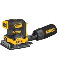 DEWALT 20V MAX* XR Brushless Cordless 1/4 Sheet Variable Speed Sander, Tool Only (No Battery or Charger)