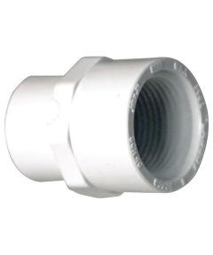 1-1/2 in. PVC Adapter, S x F