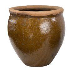 Geobunga 12 in. Diameter Ceramic Planter Pot