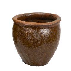 Geobunga 8 in. Diameter Ceramic Planter Pot