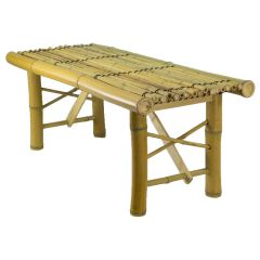 Geobunga 35 in. x 15 in. x 14 in. Bamboo Bench