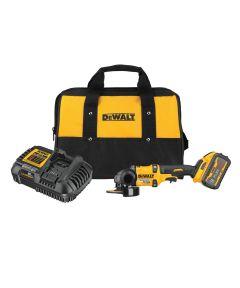 DEWALT FLEXVOLT 60V MAX* Brushless 4-1/2 in.-6 in. Cordless Grinder with Kickback Brake Kit with Battery & Charger