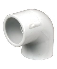 3/4 in. x 1/2 in. PVC 90 Degrees Elbow, S x S