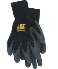 Large Cotton Latex Coated Palm Gloves