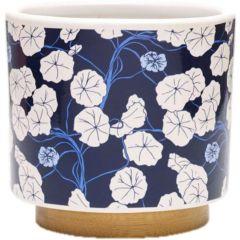 Southern Patio 3.5 in. Elora Small Ceramic Succulent Planter Bowl