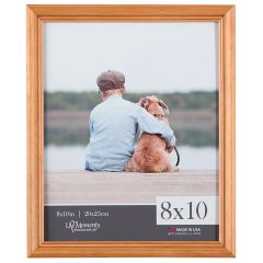 8 x 10 in.  Natural Wood Standing Picture Frame