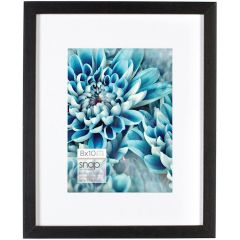 8 x 10 in. Black Matted (5 x 7) Standing Picture Frame