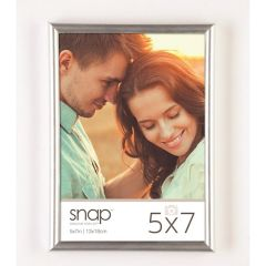 5 x 7 in. Silver Back Loader Standing Picture Frame