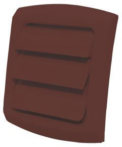 4 in. Brown ProVent Louvered Exhaust Cap