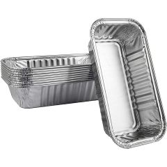 Char-Broil Disposable Aluminum Grease Drip Pans, 10 Pack