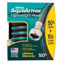 Gilmour 1/2 in. x 50 ft. AquaArmor Lightweight Water Hose