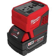 Milwaukee M18 TOP-OFF 175 Watt Power Supply & M18 REDLITHIUM XC5.0Ah Battery Combo