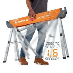 Bora Tool 45 in. Speedhorse Ultimate Quick-Deploying Collapsible Sawhorse
