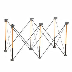 Bora Tool 4 ft. x 2 ft. x 30 in. Collapsible Centipede Sawhorse / Workstand (Support Legs Only)