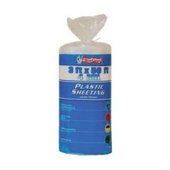 3 ft.  x 50 ft. 4 MIL Plastic Sheeting, Clear