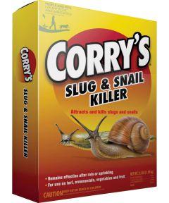 CORRY's Slug and Snail Killer, 3.5 lb Box, Light Brown, Granules
