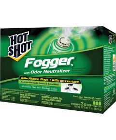 Hot Shot Insect Fogger, 2 oz., Pyrethroid Nozzle