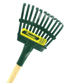 48 in. Handle 8 in. Steel Head Shrub Rake