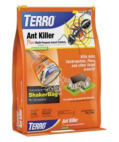 Terro Fast Acting Ant Killer, 3 lb Resealable Shaker Bag, Brown, Granular
