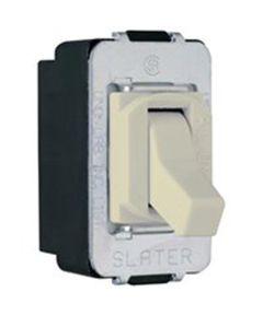 Legrand Despard Special Purpose Toggle Switch, 120/277 VAC, 15 A, 3 P, Ivory