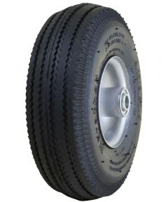 4 in. Pneumatic Tire & Tube On Steel Rim