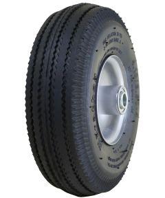 4 in. Pneumatic Tire & Tube On Steel Rim