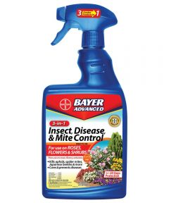 Bayer Advanced 3-in-1 Insect, Disease & Mite Control, 24 oz. Spray