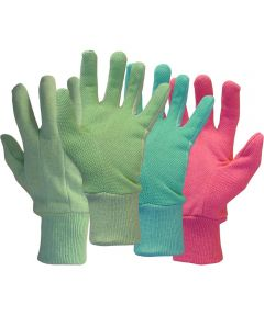 Ladies Assorted Dotted Palm Gloves