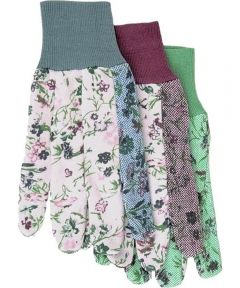 Ladies Assorted PVC Dots Gloves