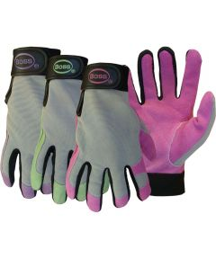 Ladies ft. Assorted Boss Guard Split Leather Glove