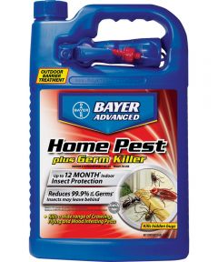 Bayer Advanced Water-Based Home Pest Plus Germ Killer, 1 Gallon