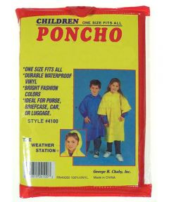 Junior Poncho Assorted Colors