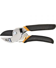 Power Lever Anvil Pruning Shear, 5/8 in Capacity Carbon Steel Blade