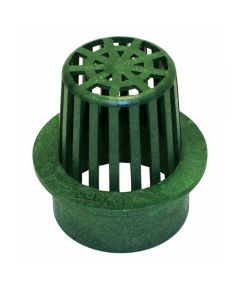 3 in. Atrium Grate, Green