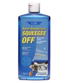 Super Concentrate Squeegee Soap Off Glass Cleaner, 16 oz.