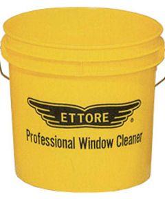 3.5 Gallon Yellow Window Washing Bucket